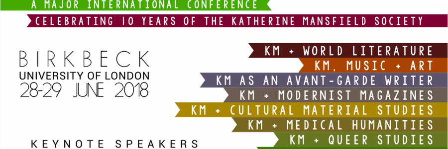 'Katherine Mansfield: New Directions' international conference