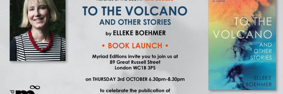 To the Volcano book launch in London