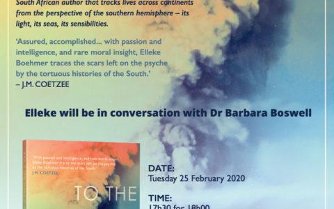 Cape Town Launch of <em>To the Volcano</em>