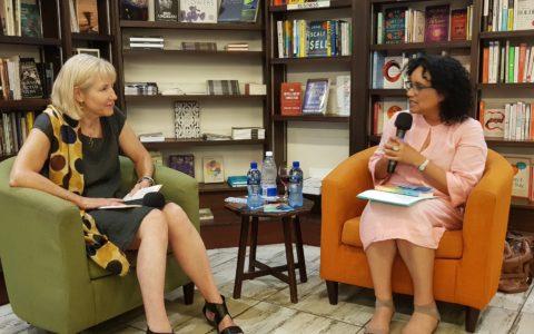 Barbara Boswell hosts Professor Elleke Boehmer's book launch